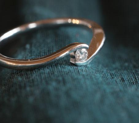 Ein goldener Ring im beziehungsweise-Magazin